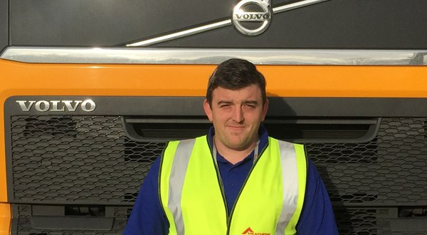 Meachers Global Logistics first to hire new driver from HGV training and guaranteed job scheme