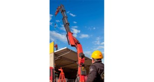 New to the market – PALFINGER presents fall protection for the loader crane