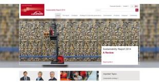 Forklift manufacturer Linde Material Handling publishes sustainability report
