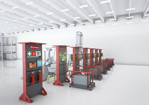 CeMAT 2016: Fronius repositions the Perfect Charging Division 1