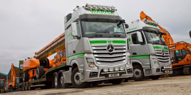 Mercedes-Benz Actros delivers the best of both worlds for Warisa