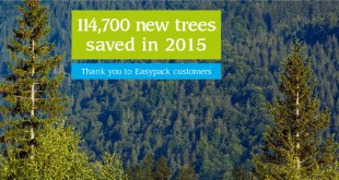 Easypack Limited: Eco-friendly packaging company save a record 114,700 trees in one year