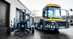 Terberg demonstrates next generation specialist distribution tractors and latest truck mounted forklifts at CV Show