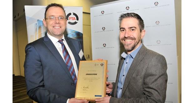 Bridgestone Tyres recognised for support of FTA carbon scheme
