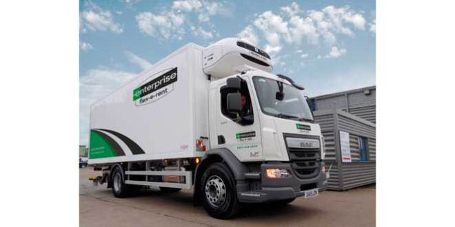 Enterprise Flex-E-Rent makes debut at CV Show with the promise of Europa League silverware