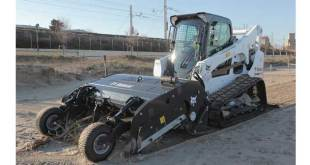 Bobcat launches new Sand Cleaner attachment