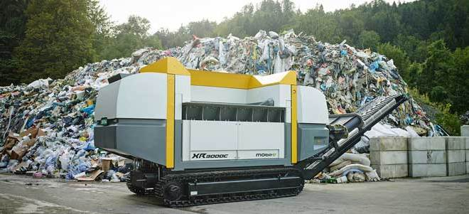 UNTHA XR mobile shredder to take centre stage at IFAT 2016