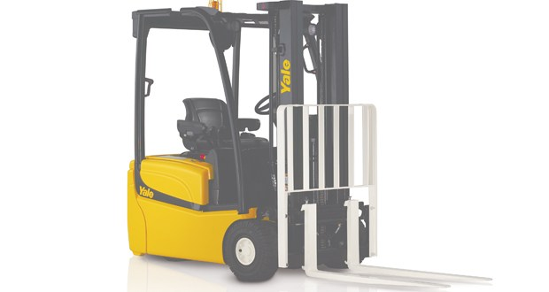 Forklift E-steering cuts energy consumption by 10% claims Yale Europe Materials Handling