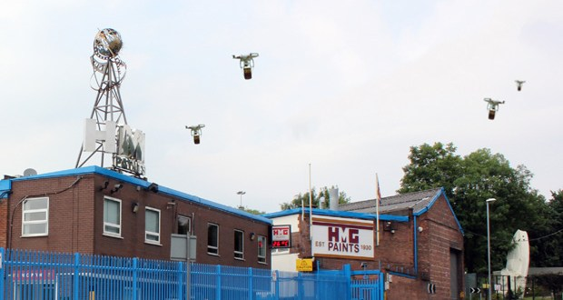 New drone delivery service takes off for HMG