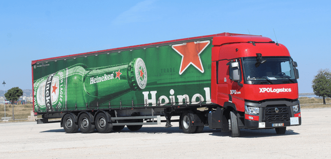 Sociedade Central de Cervejas e Bebidas (HEINEKEN Group) entrusts XPO Logistics with the exclusive management of its transport services in Portugal