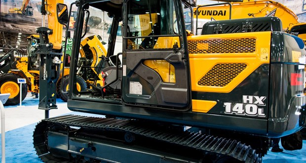 Young Plant to show the brand new Hyundai HX140 L at ScotPlant