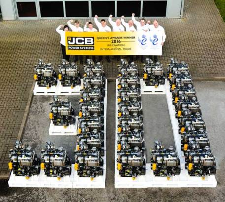 JCB Queen's Award hat-trick honours innovation and exports 1