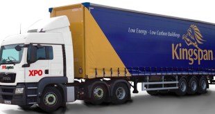 XPO Logistics wins major distribution contract with Kingspan Insulation