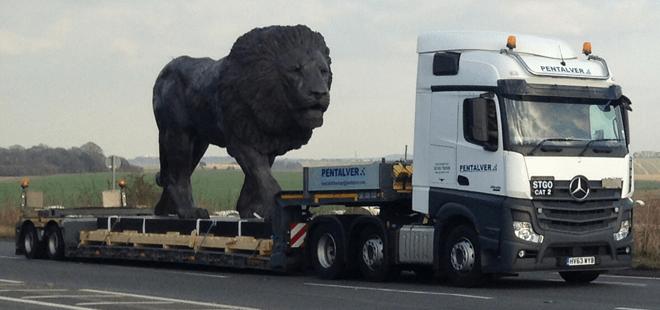 Pentalver un-caged a Lion!