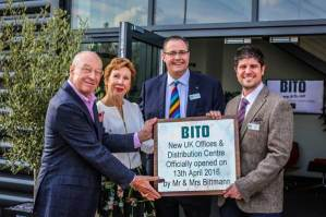 Mr and Mrs Bittman with Edward Hutchison and Jason Austin of Bito UK