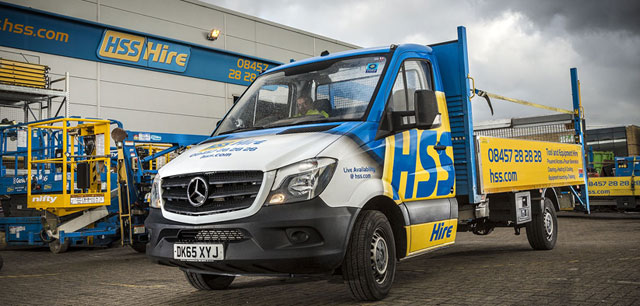 HSS tools up with Euro 6 Mercedes-Benz Sprinters
