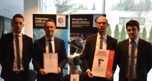 Racer3 is Product of the Year 2015 Control Engineering Polska