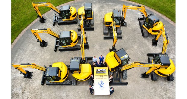JCB Queen's Award hat-trick honours innovation and exports