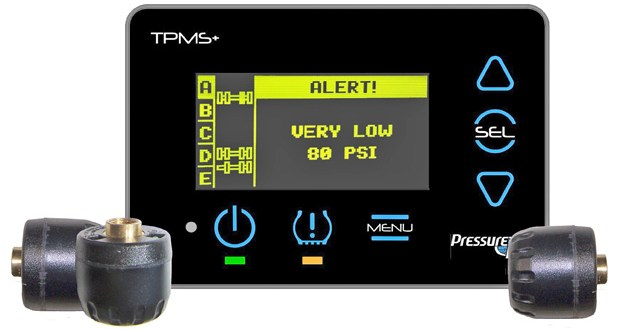 RF Tracking new Tyre Pressure Monitoring System debuts at CV Show