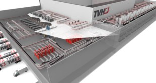 TVH invest in a new automated shuttle based Distribution Centre with TGW