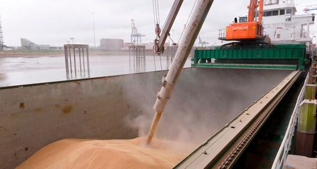Port of Tilbury expands grain terminal