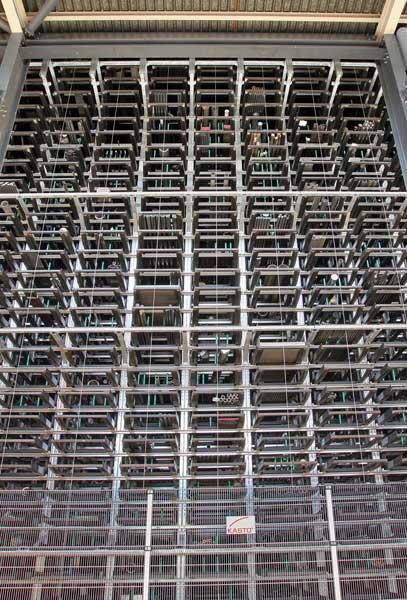 Bohler-Uddeholm (UK) invests in  KASTO UNICOMPACT storage and retrieval system 1