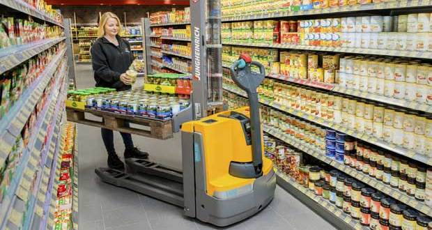 Jungheinrich at CeMAT 2016 intelligent innovations for Intralogistics 4.0