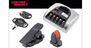 CURTISS-WRIGHT TO PROMOTE WIDE-RANGING MATERIAL HANDLING VEHICLE SOLUTIONS AT CEMAT Curtiss-Wright to promote wide-ranging material handling vehicle solutions at CeMAT Curtiss-Wright's Industrial division has today announced its Industrial division will be exhibiting at this year's CeMAT show in Hannover, Germany; and using its stand to promote products from its PG Drives Technology, Penny & Giles and Williams Controls brands, all of which have extensive experience in designing and manufacturing solutions for the monitoring and control of material handling vehicles. On show for PG Drives Technology will be the C3-CE which has been CE marked as a safety component with EN ISO 13849 Category 3 hardware architecture – including dual microprocessors, dual inputs and a dedicated B+Safe output provides a safer and more convenient approach that, unlike the conventional and widely-used Category 2 architecture, doesn't require the safety function to be checked at 'machine start-up' and 'prior to the initiation of any hazardous situation'. Also on the stand will be the C3-36V and i-Drive – which incorporate a host of specialist features that provide OEMs with motor controllers for small ride-on and material handling vehicles. The recently launched Penny & Giles SRH301 and SRH302 shaft-operated, rotary position sensors will also be on show. Offering a combination of performance, safety and cost for OEMs designing vehicles and control systems. With a sensor body depth of 17.3mm, and the 28mm diameter flanged housing with crush-proof mounting zones, these sealed IP69K-rated sensors offer exceptional performance against water, dust, shock, vibration and temperature and are ideal for use in challenging environments, as a cost-effective solution for medium-volume applications where a wide range of options or degree of customization may be required. Also on the stand from Penny & Giles is the NRH300DP, a fully-encapsulated, IP68/IP69K-rated rotary position sensor that offers exceptio