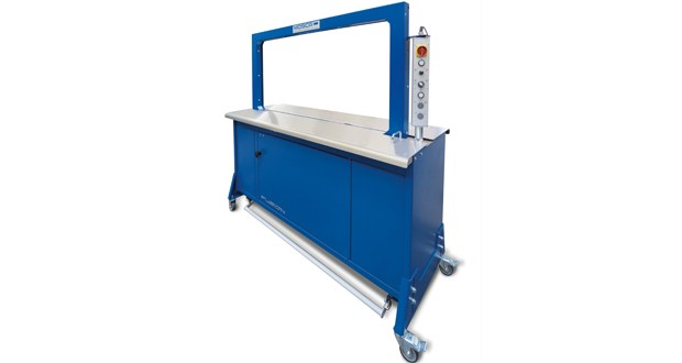 Mosca introduces a large frame version of its top-selling RO-M Fusion model Strapping Machine
