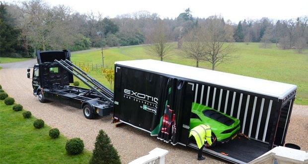 Enterprise Flex-E-Rent supplies Luxury Car Transporters for Exotic Rentals