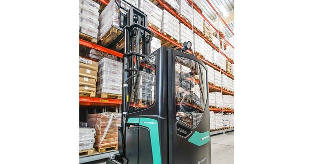 Mitsubishi Forklift Trucks adds SENSiA cold store cabins to its range