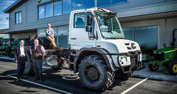 New Mercedes-Benz franchised Unimog Dealer