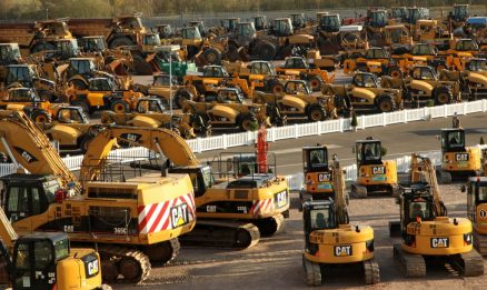 IronPlanet and Finning host first UK Unreserved Public Auction of Cat® equipment with resounding success 1