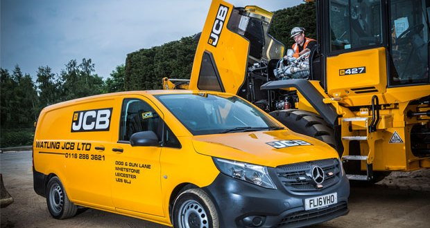 Mercedes-Benz Vito digs in with Watling JCB