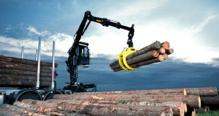 Hiab presents its latest forestry crane innovations at the KWF exhibition in Germany