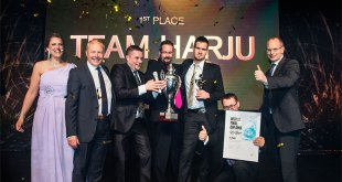 Team Harju win the world's biggest competition for workshop personnel