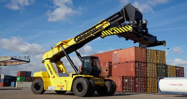Hyster® to showcase option for fast, fuel effecient cargo processing at TOC 2016