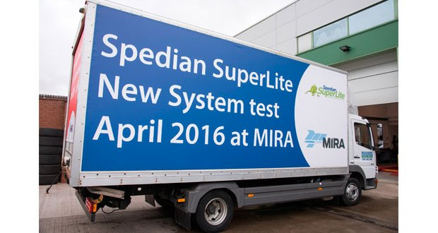 MIRA test gives the green light to Spedian SuperLite system