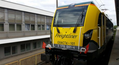 Freightliner Poland names first DRAGON locomotive