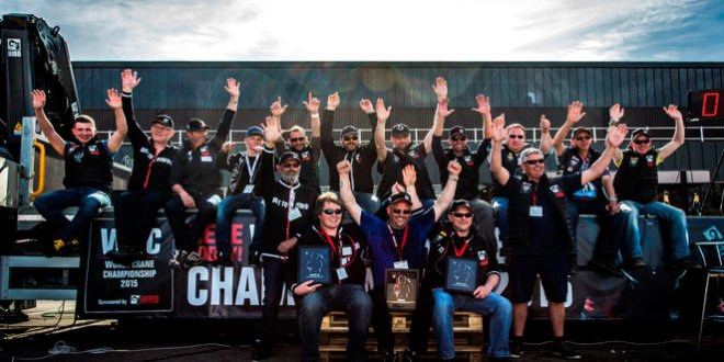 Hiab geared up for World Crane Championships 2016