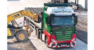 Mercedes-Benz Actros seed takes root for Fagan & Whalley