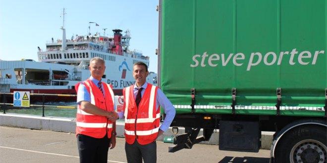 Steve Porter Transport and Red Funnel Ferries renew strategic partnership deal
