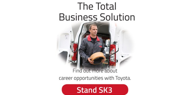 Toyota Material Handling UK looks to the future at IMHX 2016