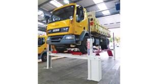 Stertil Koni vehicle lifts support multi vehicle fleet for Via East Midlands