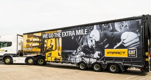 Cat® Lift Trucks distributor Impact expands delivery fleet with new Scania R450 Highline