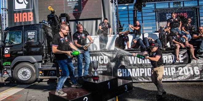 Hiab crowns World Crane Champion 2016 at the IAA