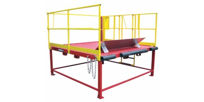 Thorworld Loading Platform improves Loading bay safety & efficiency for Gillards