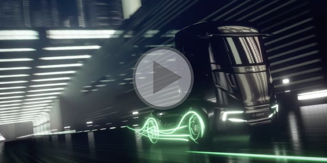 VisionX truck concept leads series of new Bosch CV technologies