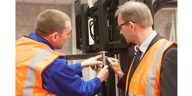 Strict testing criteria for fork lift truck Thorough Examinations ensures compliance and worker safety advises CFTS