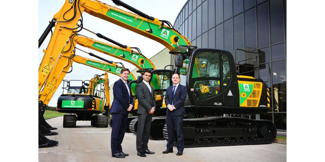 A-Plant places £35 Million order with JCB